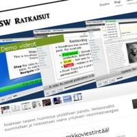 SW Ratkaisut sivusto